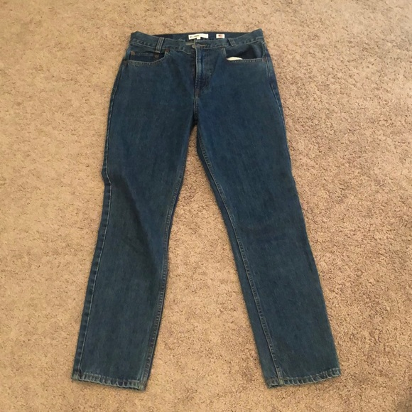 Re/Done Denim - Re/Done Academy high rise straight leg jeans